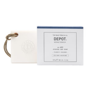 DEPOT male tools scented bar soap classic cologne
