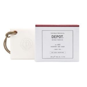 DEPOT scented bar soap dark tea
