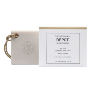 DEPOT scented bar soap white cedar